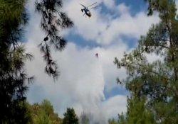 Güney Kıbrıs'taki yangın 2 can aldı