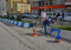Belediyeden çevre düzenlemesi