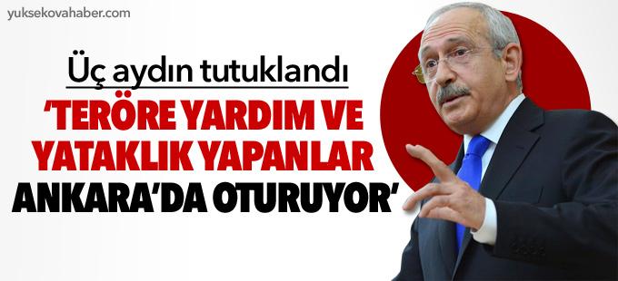 Kılıçdaroğlu: Teröre yardım ve yataklık yapanlar Ankara'da oturuyor
