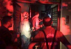 Trafo alev alarak patladı: 2 kişi baygınlık geçirdi