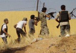 Libya'da cephanelikte patlama