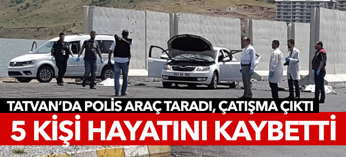 Bitlis'te 5 kişi öldürüldü
