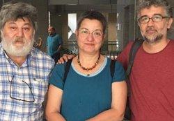 """Tutuklu Nöbetçi Genel Yayın Yönetmenleri için """"Özgürlük Nöbeti"""""""