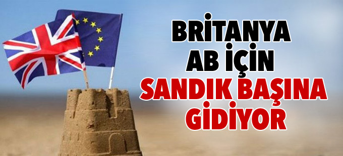 Britanya AB'de kalıp kalmama kararı için sandığa gidiyor