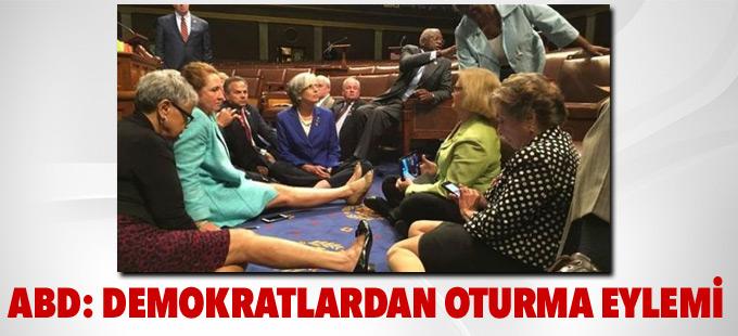 ABD: Demokratlardan Kongre'de oturma eylemi