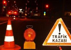 Erzurum'da trafik kazası: 9 yaralı