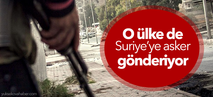 Norveç, Suriye'ye asker gönderiyor
