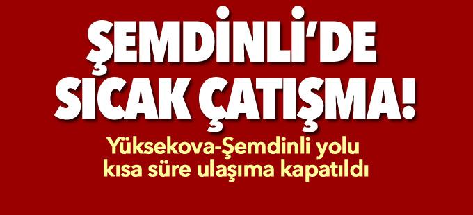 Şemdinli'de roketatarlı saldırı ve çatışma
