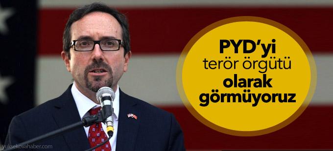 ABD yineledi: PYD'yi terör örgütü olarak görmüyoruz