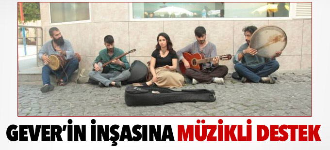 Yüksekova'daki yeniden inşaya müzikli destek