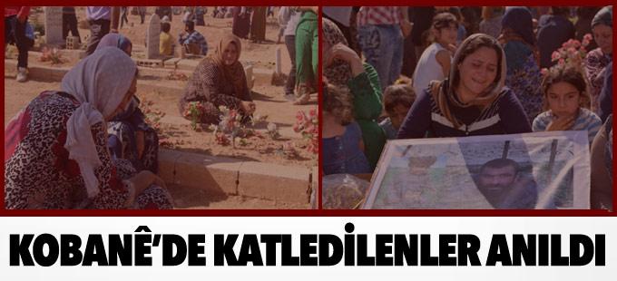 Kobanê'de katledilenler anıldı