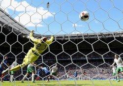 İrlanda Cumhuriyeti'ni 2-1 yenen Fransa çeyrek finalde
