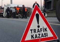 Adana'da trafik kazası: 1 ölü 14 yaralı