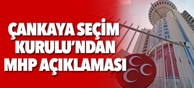 Seçim Kurulu: MHP'de 10 Temmuz'da seçimli kurultay yapılamaz