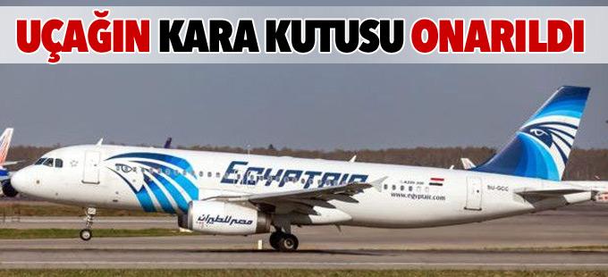 Düşen EgyptAir uçağının kara kutusu onarıldı