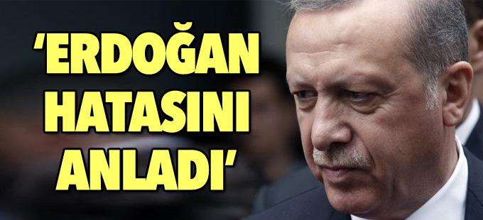 Rus basını: Erdoğan hatasını anladı