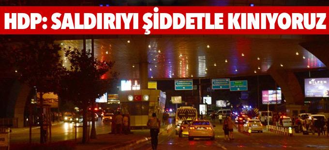 HDP: Saldırıyı şiddetle kınıyoruz