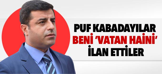 Demirtaş: Bir tarafta IŞİD, bir tarafta AKP, ikisi de aynı