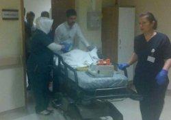 Yüksekten düşen bebek ağır yaralandı