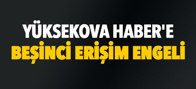 Yüksekova Haber'e beşinci erişim engeli
