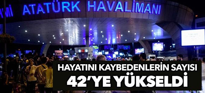 Saldırıda hayatını kaybedenlerin sayısı 42'ye yükseldi