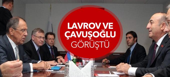 Çavuşoğlu ve Lavrov Rusya'da görüştü