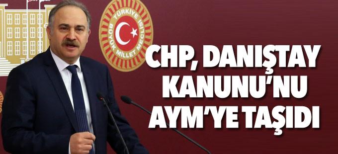 CHP, Danıştay kanununun iptali için AYM'ye başvurdu