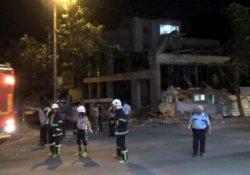 Antep'te inşaat çöktü: 3 yaralı