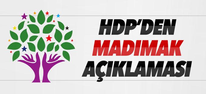HDP'den Madımak açıklaması