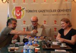 Önderoğlu'ndan TGC'ye ziyaret