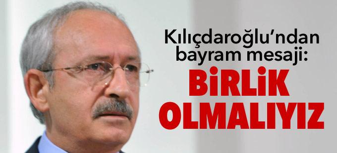 Kılıçdaroğlu'ndan bayram mesajı: Vahşete karşı birlik olmalıyız