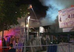 Sultanbeyli'de hurdalıkta yangın