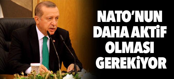 Erdoğan: NATO'nun daha aktif olması gerekiyor