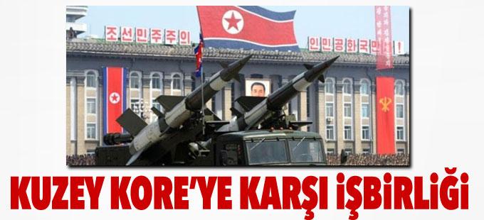 ABD ve Güney Kore'den Kuzey Kore'ye karşı işbirliği