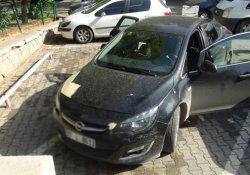 Antep'te araca silahlı saldırı: 1 yaralı