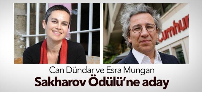 Can Dündar ve Esra Mungan Sakharov Ödülü'ne aday