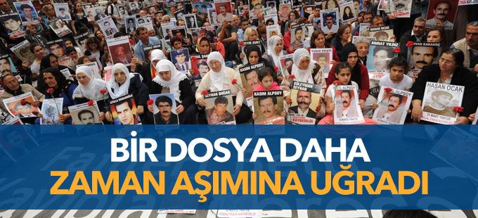 Gözaltında kaybedilen Talat Türkoğlu'nun dosyası kapatıldı