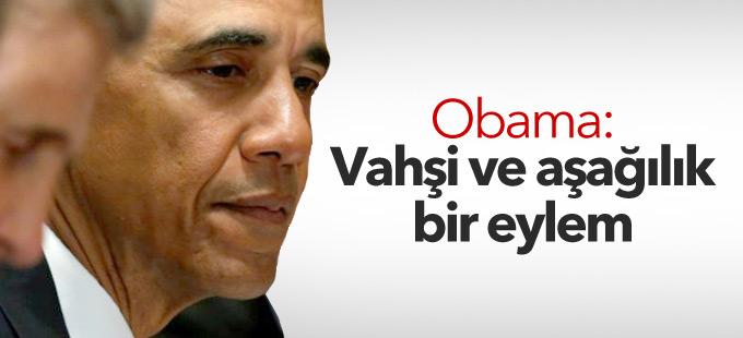 Obama'dan Dallas açıklaması: Vahşi ve aşağılık bir eylem