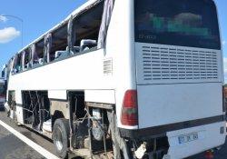 Osmangazi Köprüsü çıkışında otobüs kazası: 9 yaralı
