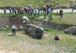 Erciş'te trafik kazası: 1 ölü, 2 yaralı