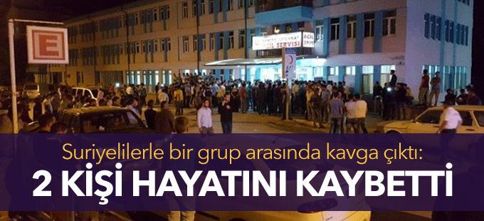 Konya'da Suriyelilerle bir grup arasında çıkan kavgada 2 kişi öldü
