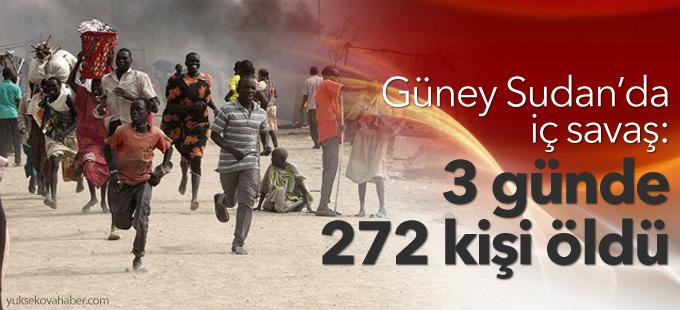 Güney Sudan'da iç savaş: 3 günde 272 kişi öldü