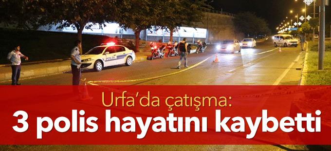 Urfa'da çatışma: 3 polis hayatını kaybetti, saldırgan öldürüldü