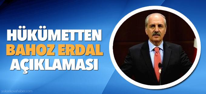 Hükümetten 'Bahoz Erdal' açıklaması