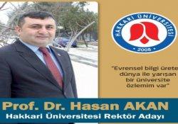 Hakkari Üniversitesi'nde rektörlük seçimi