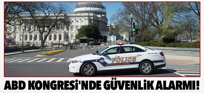 ABD Kongresi'nde güvenlik alarmı!