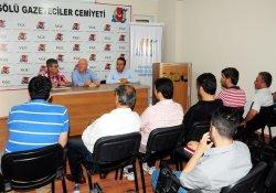Türkiye Gazeteciler Konfederasyonu'ndan VGC'ye ziyaret