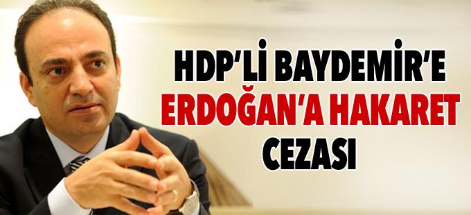 Baydemir'e 'Cumhurbaşkanı'na hakaret'ten tazminat cezası