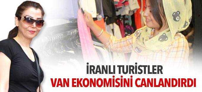 İranlı turistler Van ekonomisini canlandırdı