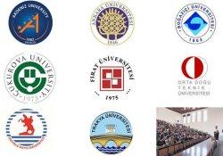 Sekiz Üniversite rektör adaylarını seçti